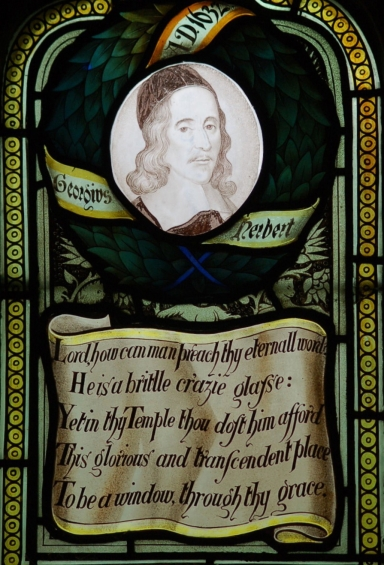 George Herbert stained glass