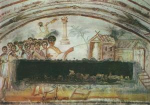 CatacombViaLatina_Resurrection_of_Lazarus