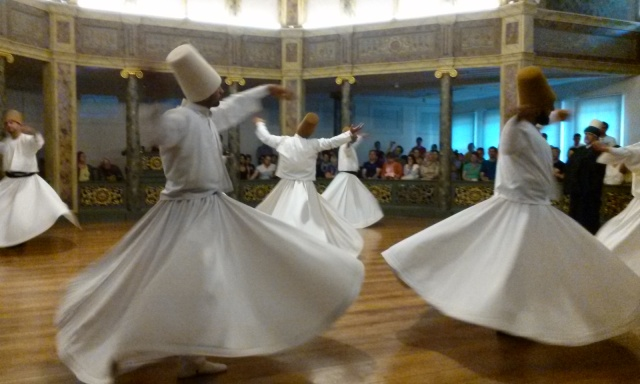 whirling dervishes, Istanbul, 8-31-14