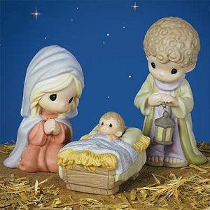 Precious Moments Holy Family