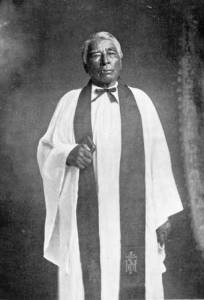 "Enmegabowh, ""He who stands before his people"" AKA The Rev. John Johnson"