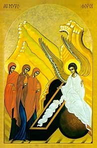 holy women and empty tomb