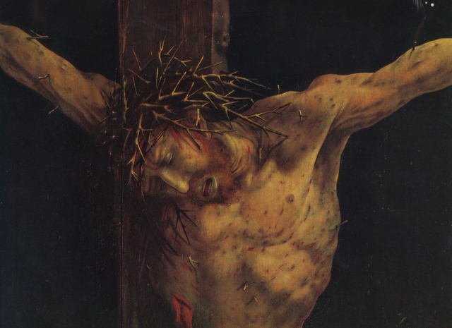 Mathias Grünewald, Crucifixion, Isenheim Altarpiece, c.1512/15 Musée d'Unterlinden, Colmar